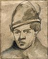 Portrait of a Man in a Hat by Theo van Doesburg AB4239.jpg
