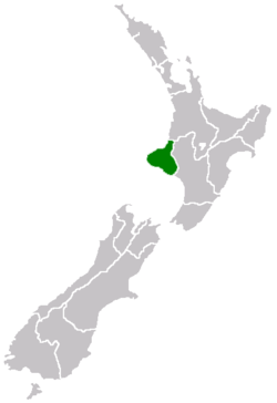 Location of Taranaki