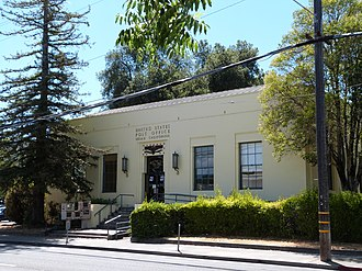 Ukiah, California - Post Office in Ukiah, CA