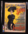 Poster for the premiere of Sapho by Massenet with Emma Calvé - Library of Congress.png