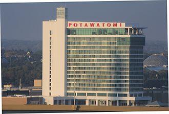 Potawatomi Hotel & Casino - Casino in 2015