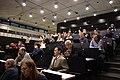 Praha, Dejvice, NTK, Wikikonference 2012, lidé v sále.jpg