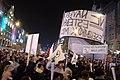 Praha, Václavské náměstí, demonstrace proti Ondráčkovi, transparenty II.jpg