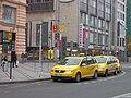 Praha, Václavské náměstí, taxíky (1).jpg