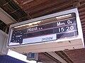 Praha-Holešovice, odjezdová tabule nad nástupištěm.jpg