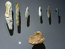 Quelle sont les outils de la prehistoire
