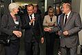 Premier i Minister Elżbieta Bieńkowska z dyrekcją szpitala zwiedzili obiekt (6165315821).jpg