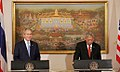 President Bush Meets with Prime Minister Samak of Thailand.jpg