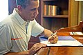President Obama signing the Bipartisan Budget Act of 2013.jpg