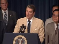 File:President Reagan's at the Japanese-American Internment Compensation Bill signing on August 10, 1988.webm