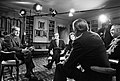 """President Richard Nixon during an Interview with John Chancellor, Eric Sevareid, Howard K. Smith and Nancy Dickerson for the Television Special Program """"A Conversation with the President"""".jpg"""
