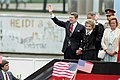 President Ronald Reagan and Nancy Reagan departure after remarks at Berlin Wall.jpg