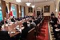 Prime Minister Shinzo Abe of Japan Visits the White House (47732915091).jpg