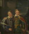 Princes Ferdinand (1816-85) and Augustus (1818-81) of Saxe-Coburg and Gotha when children (c.1824).png