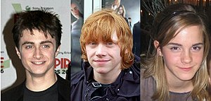 Rupert Grint outside the premiere of 'Harry Po...