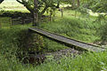 Private footbridge over the Tarnbrook Wyre - geograph.org.uk - 1409371.jpg