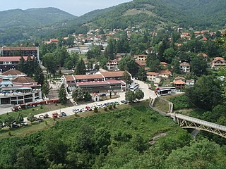 Prolom Village in Toplica District, Serbia