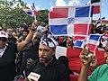 Protestas dominicanas en Oranjestad 2020.jpg