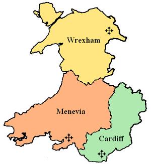 Roman Catholic Diocese of Menevia - Image: Province of Cardiff