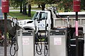 Public utilities truck in Troy, New York.jpg