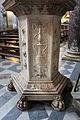 Pulpito del duomo di pietrasanta, piedistallo di lorenzo stagi (1504), 01.JPG