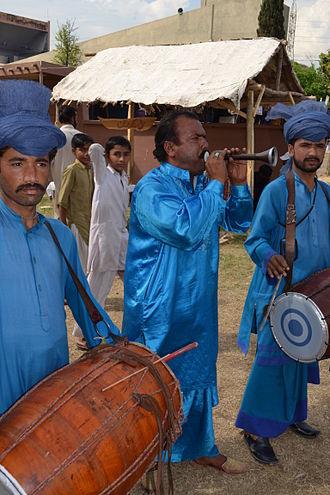 Punjabi Tamba and Kurta - Punjabi kurta and tehmat