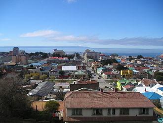Magallanes Region - Image: Punta Arenas View 1