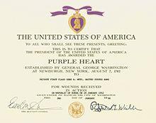 Purple Heart  Wikipedia