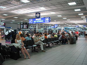 Katowice International Airport - Inside Terminal A