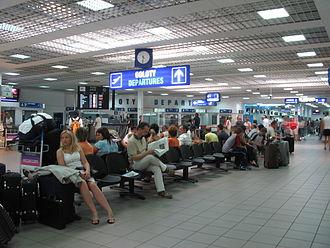 Katowice International Airport - Inside Terminal A