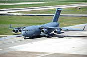 Qatari C-17 at Incirlik Air Base, Turkey