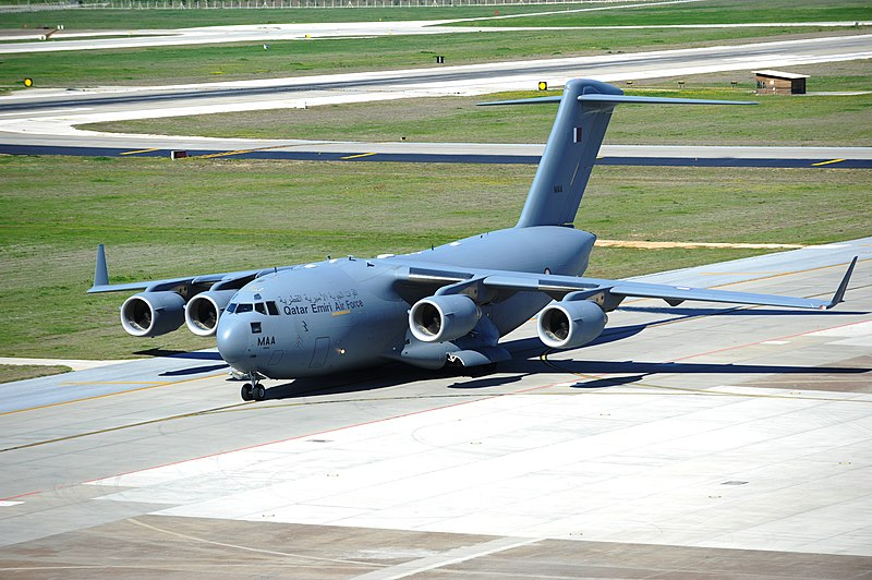 File:Qatari C-17 at Incirlik Air Base, Turkey.JPG