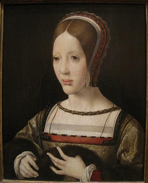 File:Queen Eleanor of Austria, 1516, by Jan Gossaert (c. 1478-1532) - IMG 7431.JPG