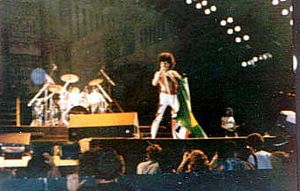 Rock in Rio - Queen performing in 1985.