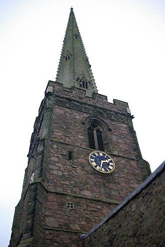 Queniborough - The church's spire