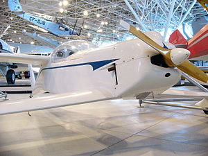 Rutan Quickie - Quickie in the Canada Aviation and Space Museum.