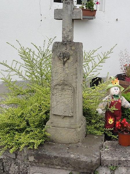 Réchicourt-le-Château (Moselle) croix de chemin
