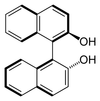 Chirality (chemistry) - 1,1'-Bi-2-naphthol is an example of a molecule lacking point chirality.