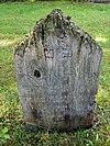 Joodse begraafplaats: Puntvormig houten grafmonument