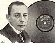 Rachmaninoff, from a 1921 Victor advertisement