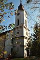 Radvaň - veža evanjelického kostola.JPG
