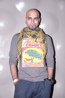 Raghu Ram at Agnee's Bollywood debut gig.jpg