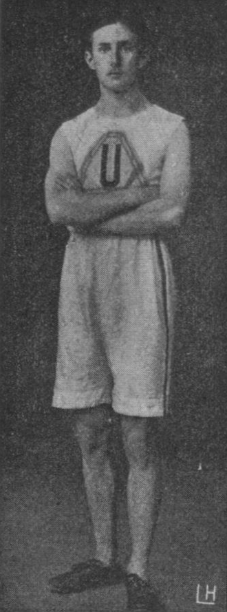 Ragnar Stenberg - Ragnar Stenberg circa 1906, wearing Helsingin Unitas uniform