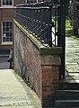 Railings and wall - geograph.org.uk - 1771472.jpg