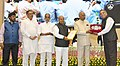 Ram Nath Kovind presenting the National Awards for Outstanding Services in the field of Prevention of Alcoholism and Substance (Drugs) Abuse.JPG