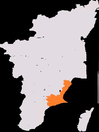 Ramanathapuram (Lok Sabha constituency) - Ramanathapuram constituency, post-2008 delimitation