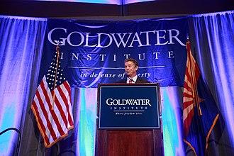 Goldwater Institute - Senator Rand Paul speaking at the Goldwater Institute dinner in 2014