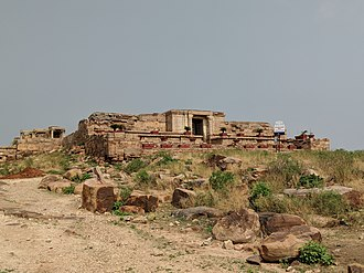 Gandikota - Image: Ranganatha Swamy Temple Distant