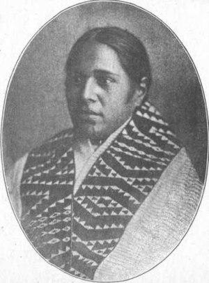 Tāwhiao - Image: Rangiaho, second wife of Tawhiao
