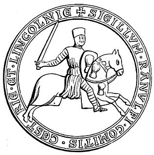 Ranulf de Blondeville, 6th Earl of Chester
